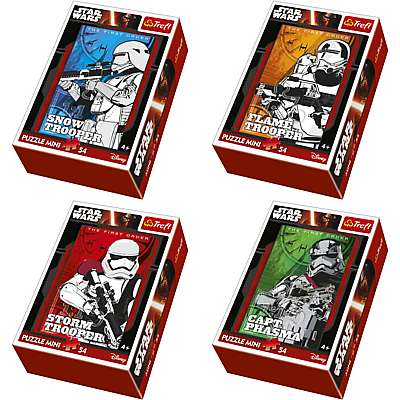 Mini puzzle 54 db Star Wars Birodalmiak Trefl