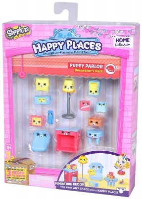 Happy Places dekoráló szett - Puppy parlor