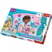 Magic Decor puzzle 15 db Doc McStuffins Trefl
