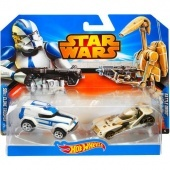 Hot wheels Star Wars 2 db - os Clone Trooper Hot Wheels