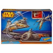 Star Wars X-Wing csillagromboló galaktikus csata Hot Wheels