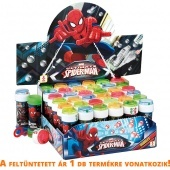 Buborékfújó 60 ml Spider Man