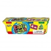 Kiddy dough 4 db-os gyurma Creativ Kids