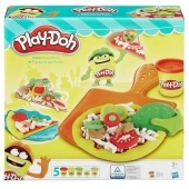 Pizza Party Play-doh