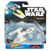 Hot Wheels Star Wars Csillaghajók -  Y - Wing Fighter