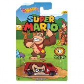 Hot Wheels Super Mario kisautó - Super van
