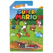 Hot Wheels Super Mario kisautó - Flathead Fury