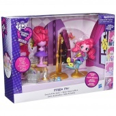My Little Pony EQ mini baba jelenet - Pinkie Pie Szalon