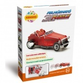 3d puzzle, piros oldtimer Hope Winning