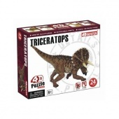 4D puzzle 24 db - Triceratops