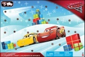 Cars 3 Adventi naptár 2017