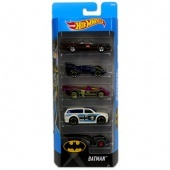 Hot Wheels  Kisautók (5 darabos) - Batman