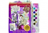 Ever After High poszterkészítő füzet vízfestékkel Fashion Angels