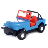 Color cars Wader - kék jeep