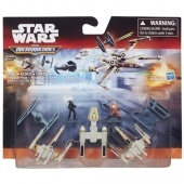 Star Wars 7 Micromachines - Trench run Hasbro