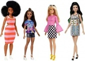 Barbie Fashionistas babák 4db