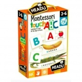 Montessori Puzzle-Angol ABC-ABC-Montessori Touch Abc