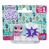 Little Pet Shop mini 2 -es csomag - Ally Geckoro