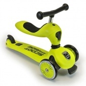 Scoot and Ride Highwaykick 1. 2 in 1 kismotor/roller LIME