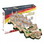 3D puzzle Hohenzollern kastély