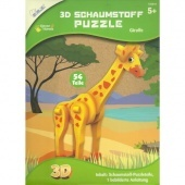 3D puzzle Zsiráf 54 db-os 156010 Mammut