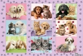 My Animal Friends puzzle 100 db-os 56268 Schmidt