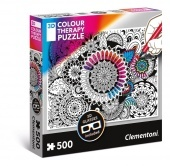 500 DB-OS COLOR THERAPY 3D PUZZLE- VIRÁG Clementoni
