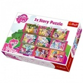 3x Story Puzzle - My Little Pony Trefl